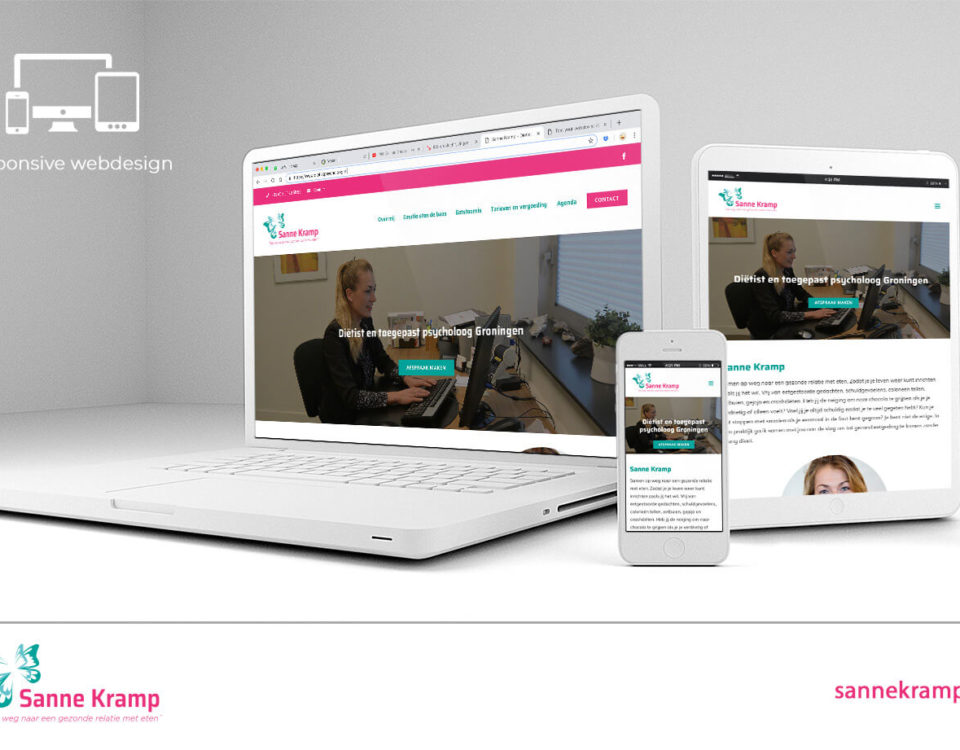 webdesign sanne kramp
